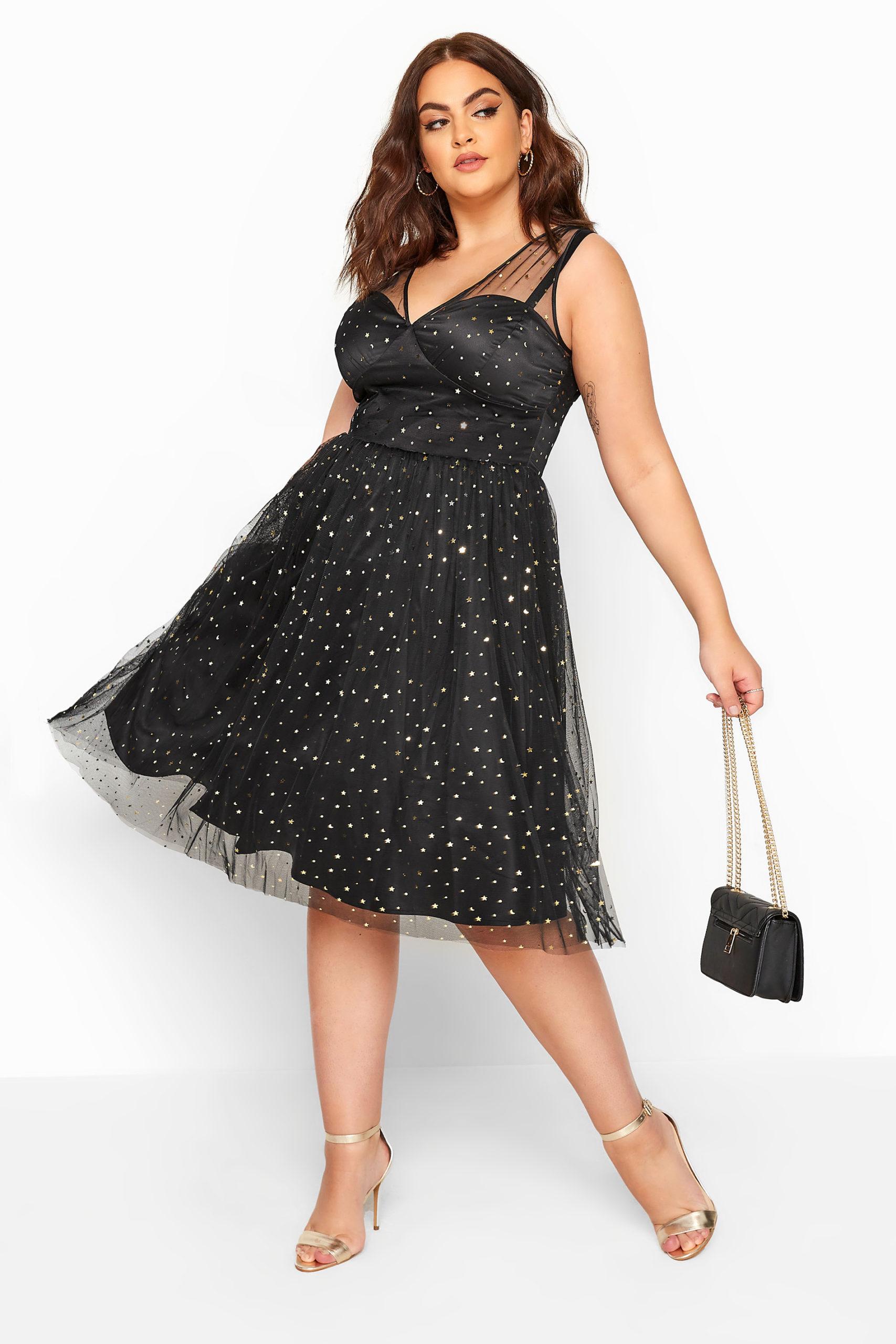 Star Printed Dress