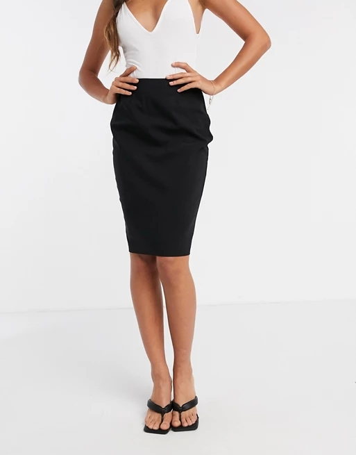 ASOS DESIGN Hourglass high waisted pencil skirt