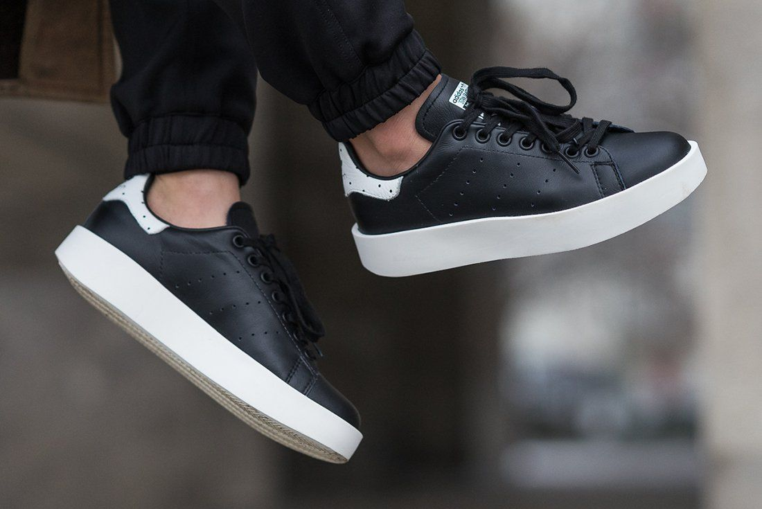 Adidas Stan Smith Bold In Core Black