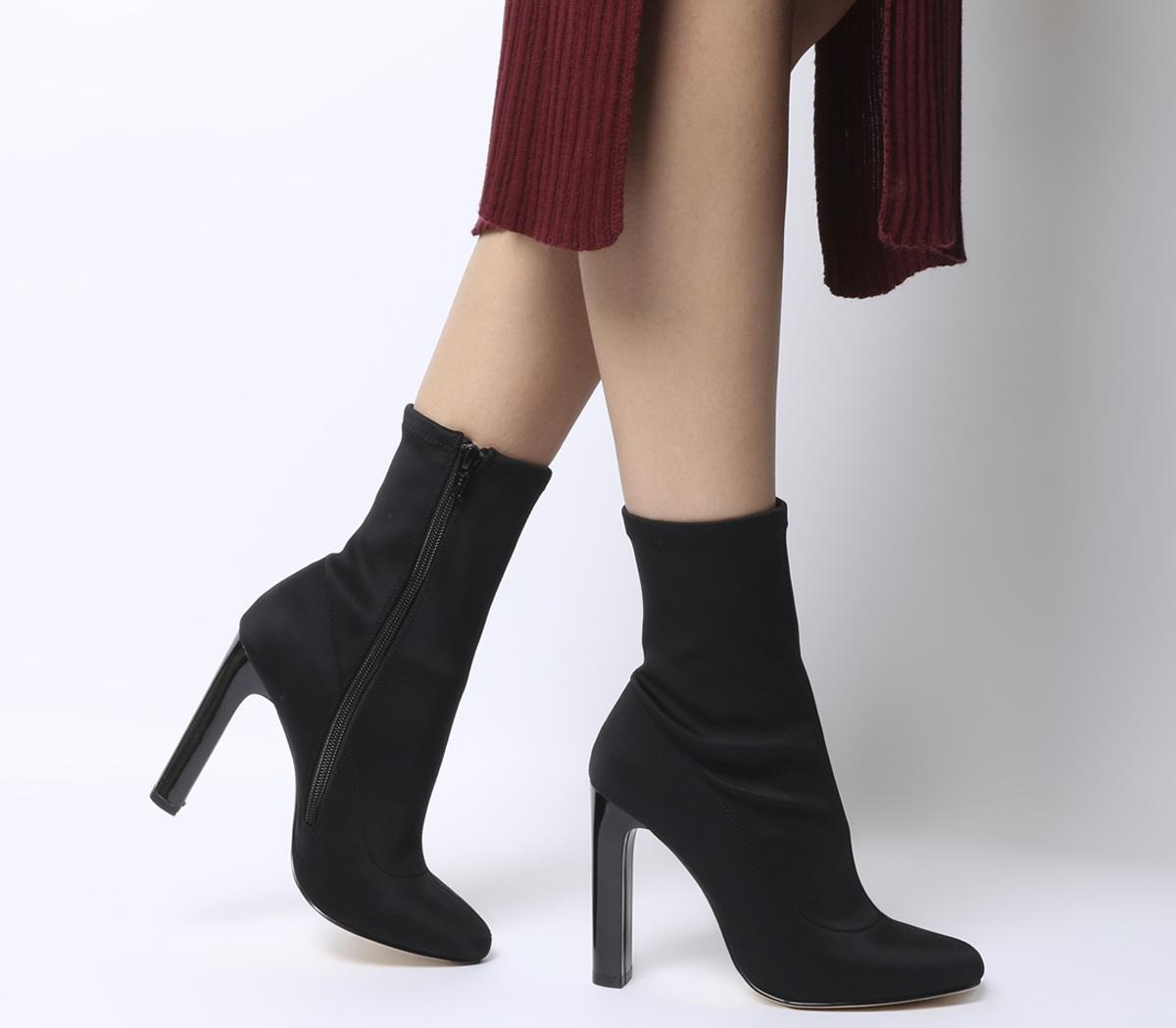 Azul Sock Boots Black