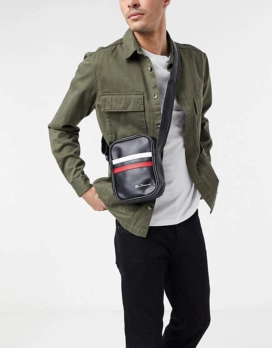 Ben Sherman Men's Flight Bag Black