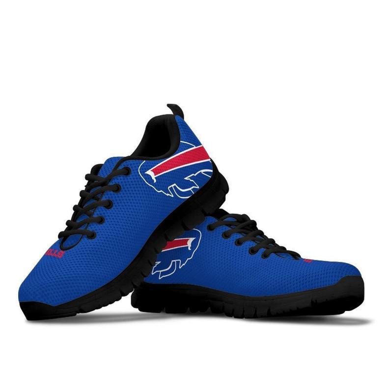 Buffalo Bills themed custom shoes sneakers for fan, adults kids women men