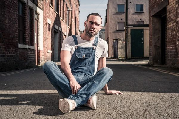 Mens Denim Dungaree
