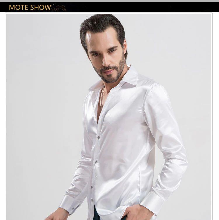 Satin Silk Wedding Shirt