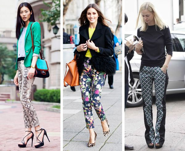 Print Pants For Women