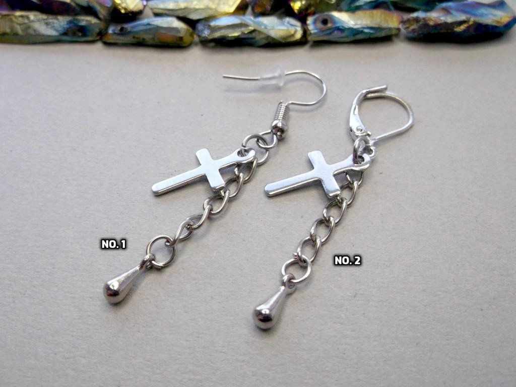 Cool Cross Earrings For Men