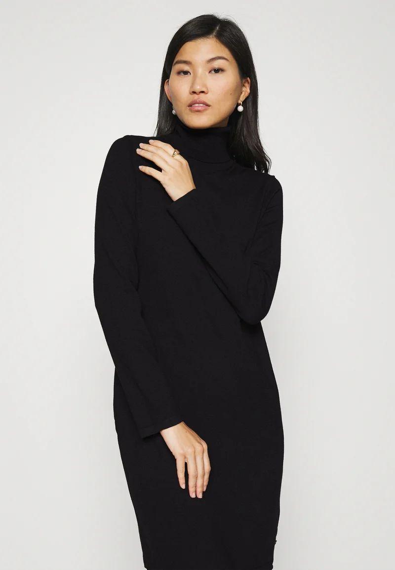 DRESS TURTLE NECK - Jumper dress