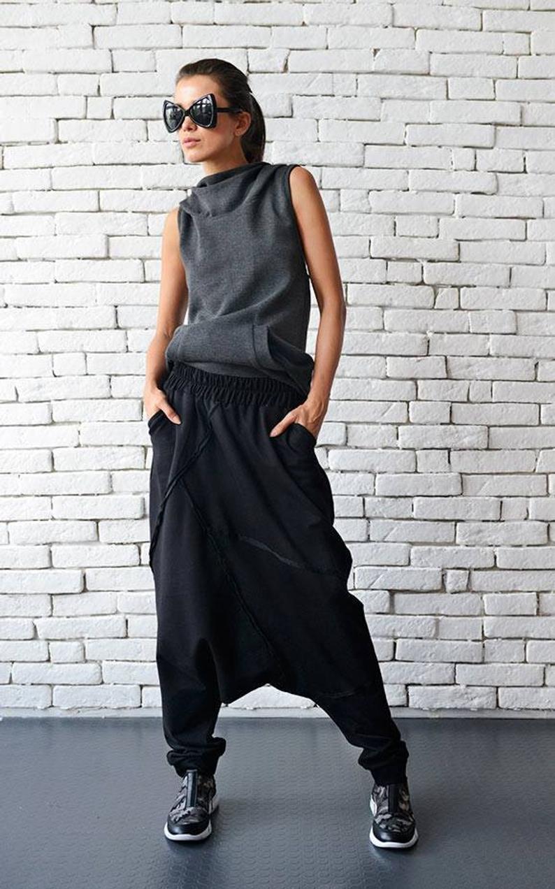 Extravagant Black Pants