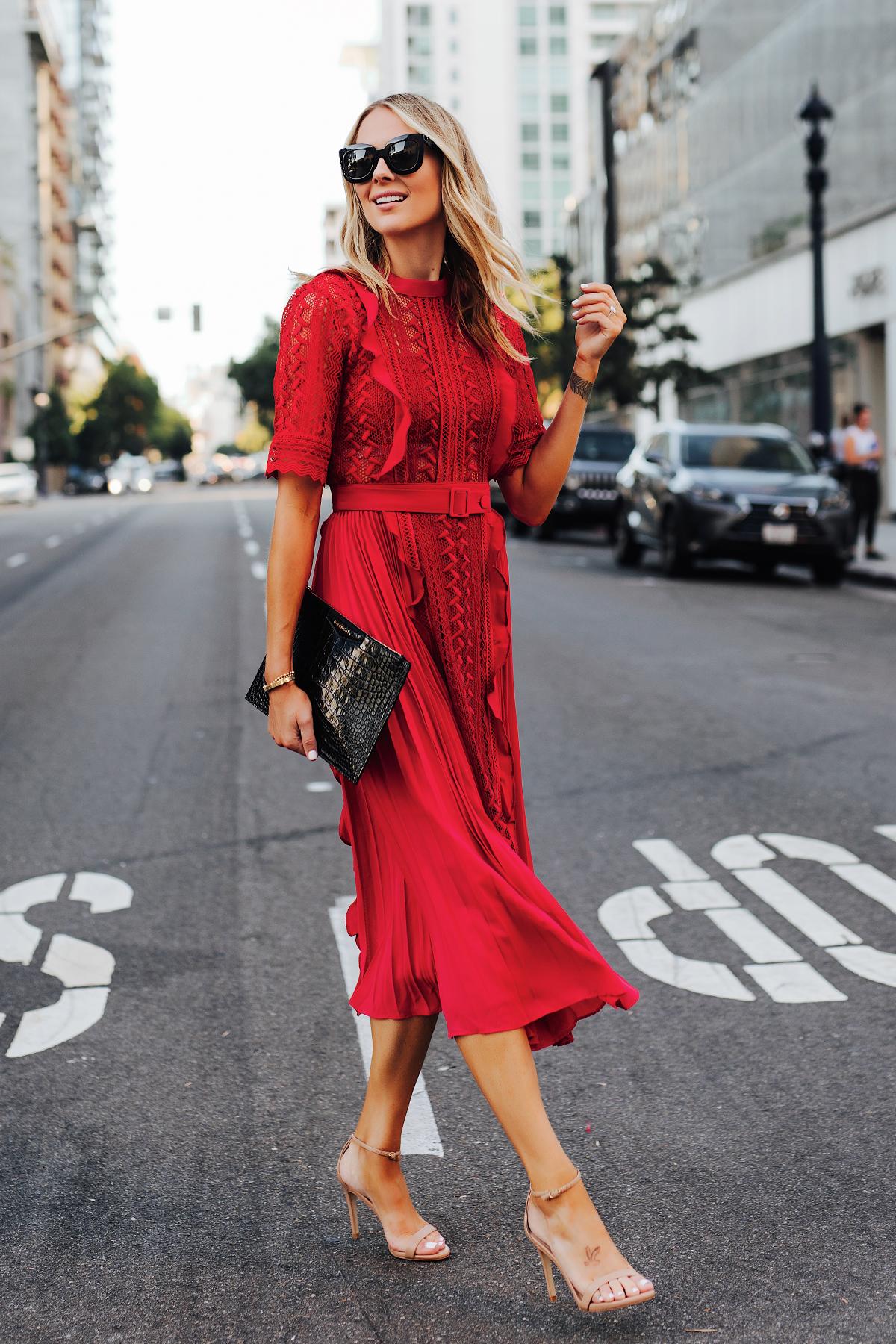 Tied Midi Dress