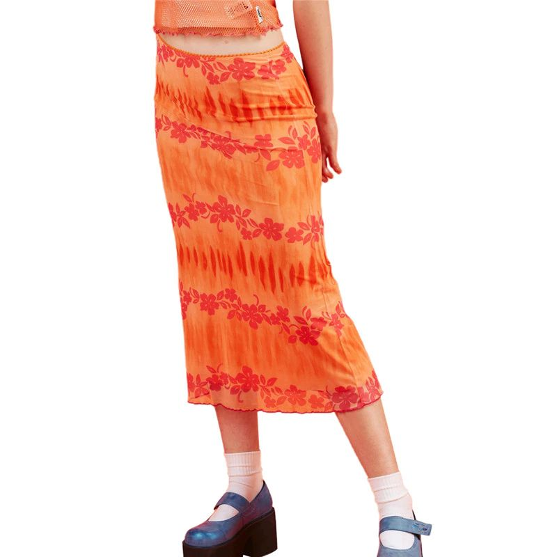 Fashion Summer Women Boho Beach Casual Style Skirts