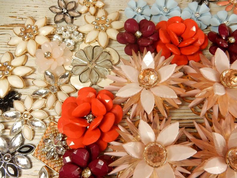 Floral Broken Jewellery