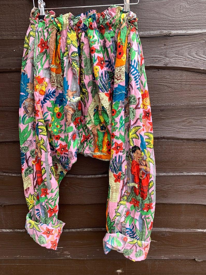 Frida kahlo garcon pants