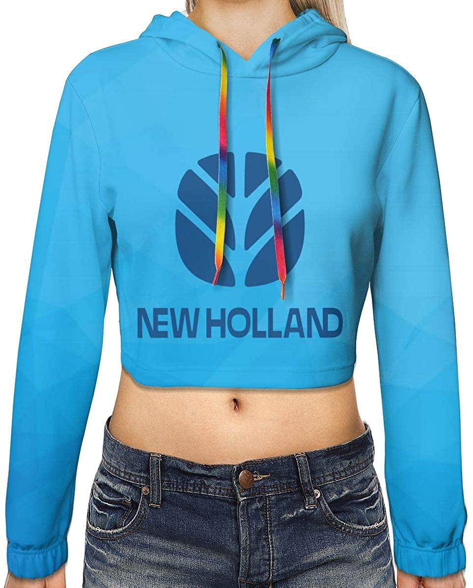 Girls Hoodie New-Holland-Logo Sweatshirts Jumper
