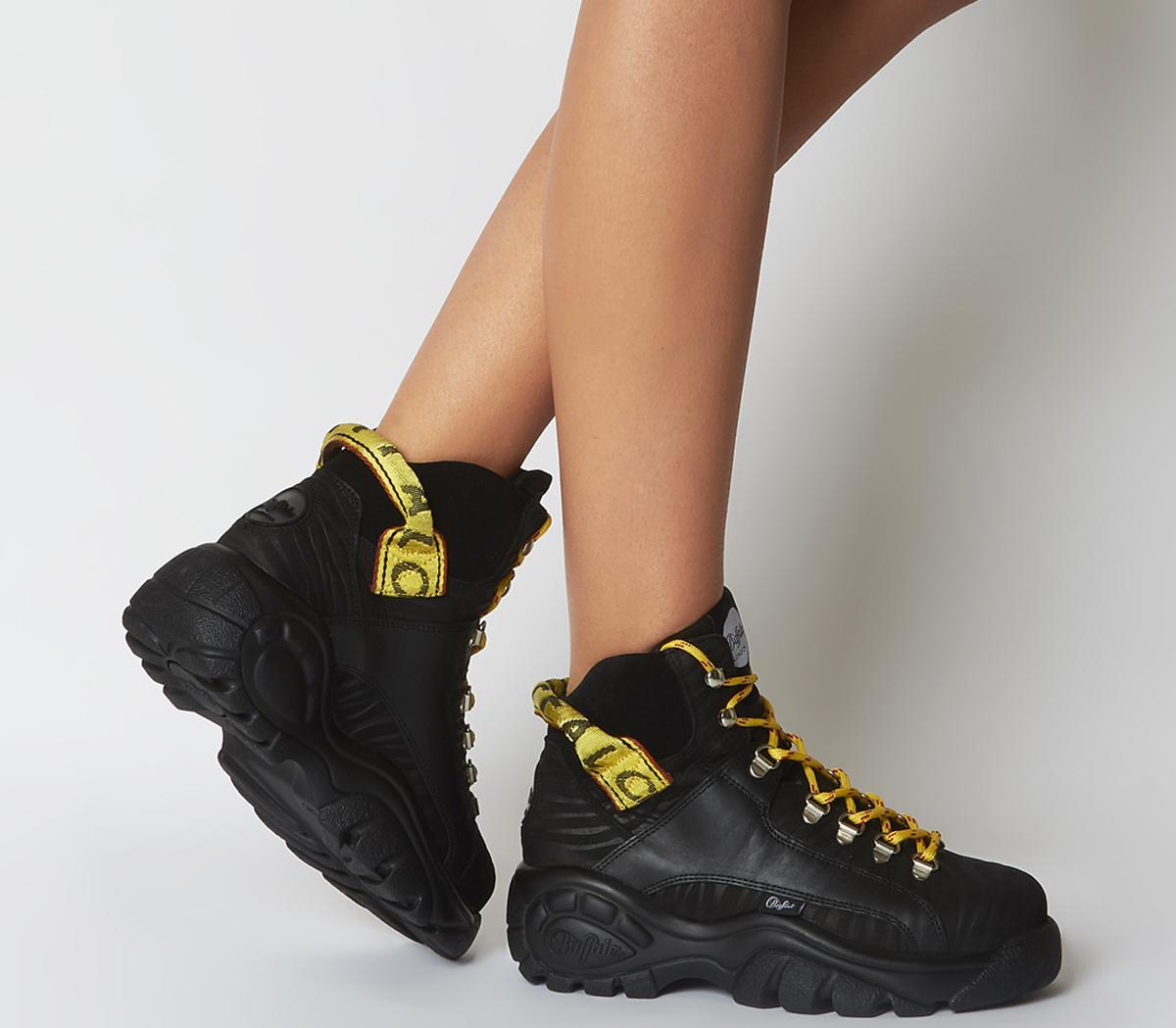 Giselle Sneaker Boots Black
