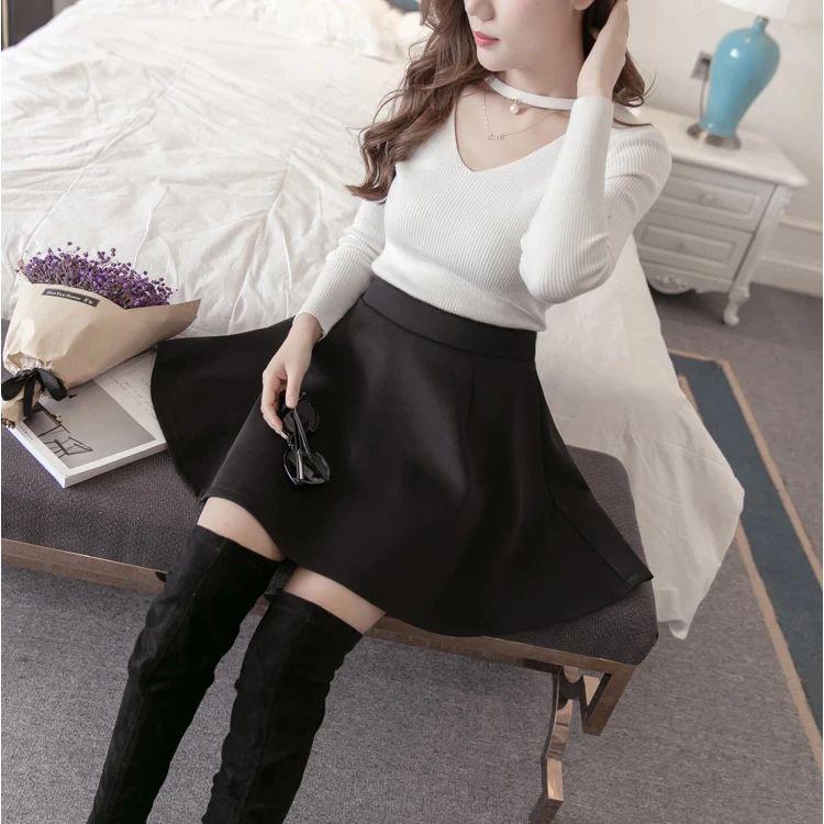 Gothic Skirt Women'S Skirt Harajuku Punk Skirt for Female Ladies Mini Skirts Black Skirt Sunflower Skirt Plus Size Korean Style