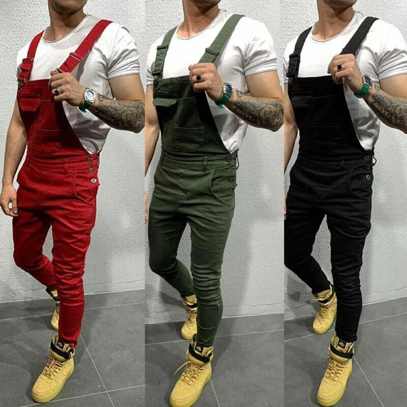 Men Denim Dungaree