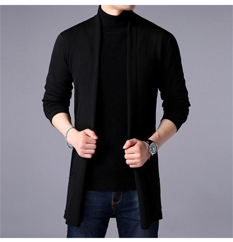 Men's Casual Sweater Cardigan