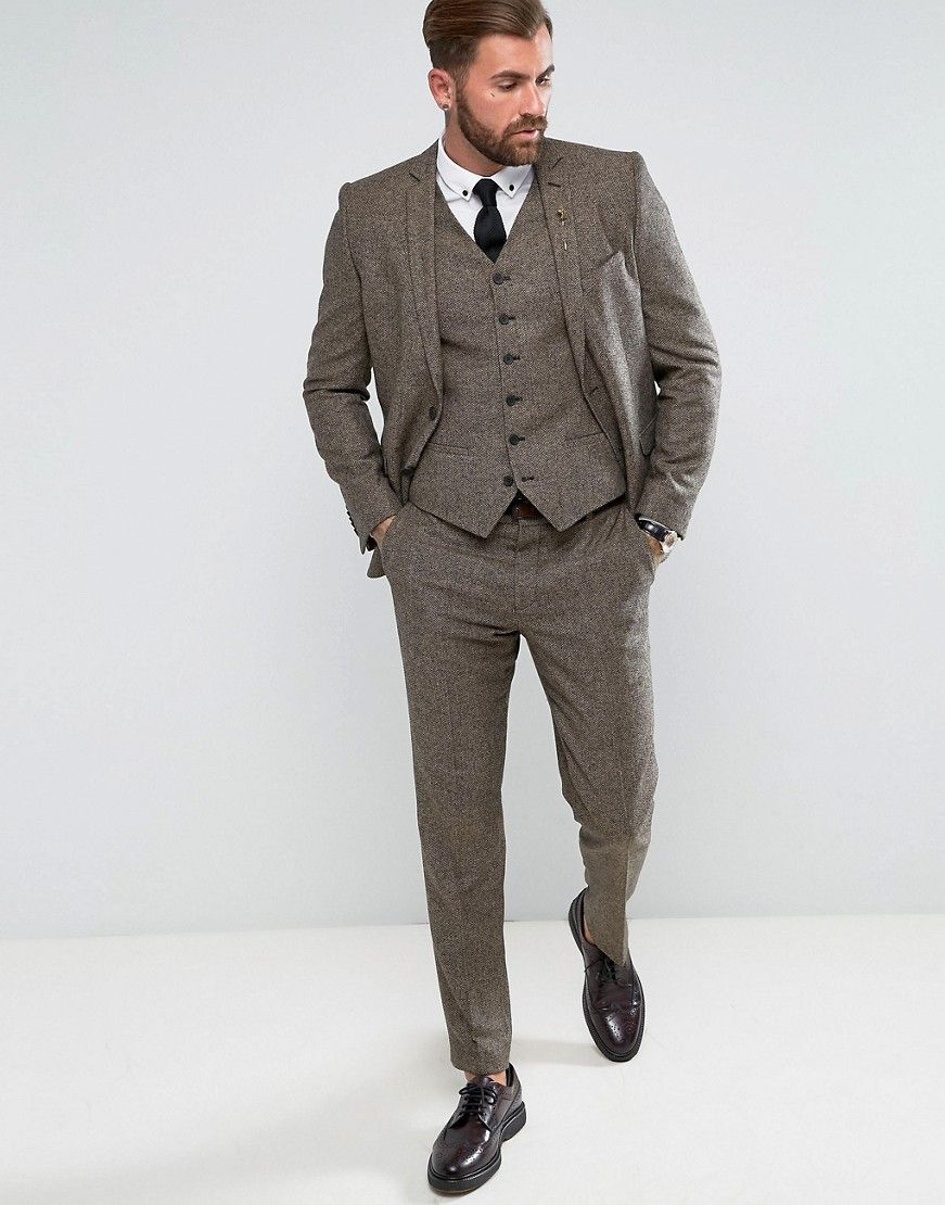Heart and Dagger Slim Suit