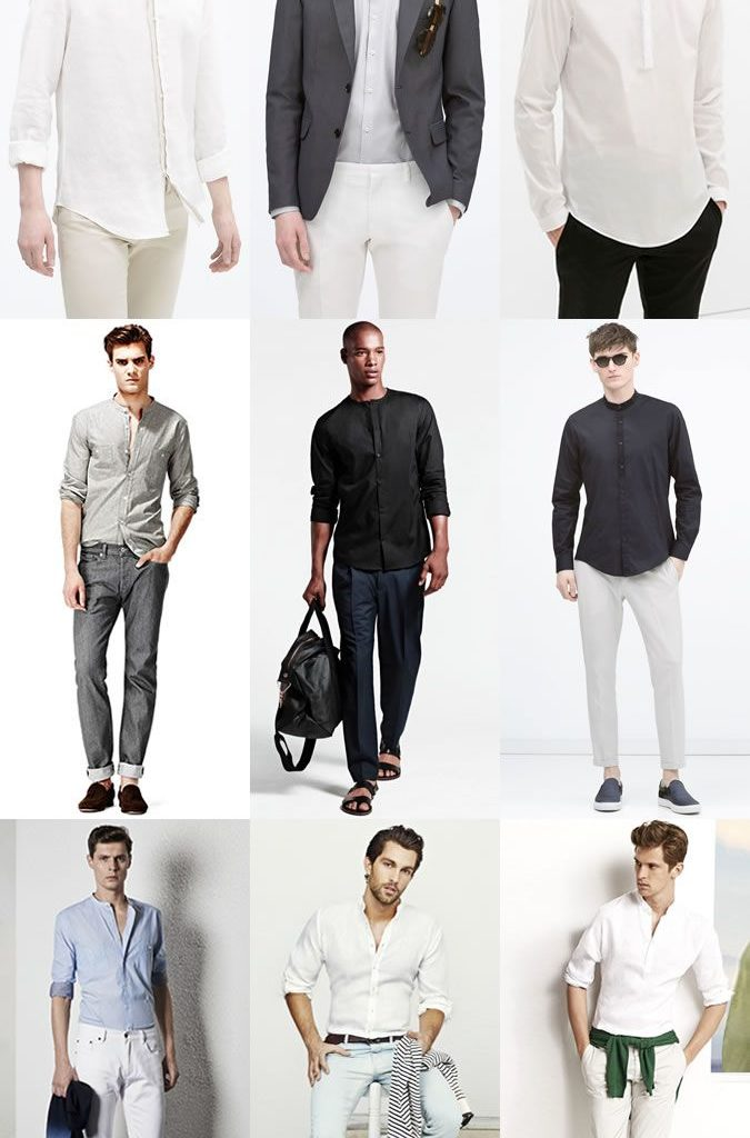 How to Choose the Perfect Grandad Collar Shirt