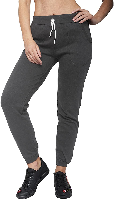 Juicy Trendz Womens Slim Fit Fleece Athletic Joggers Trouser Jogging Sweatpants