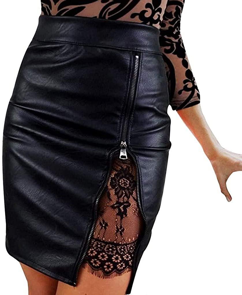 Knee Length Midi Pencil Classic Skirts