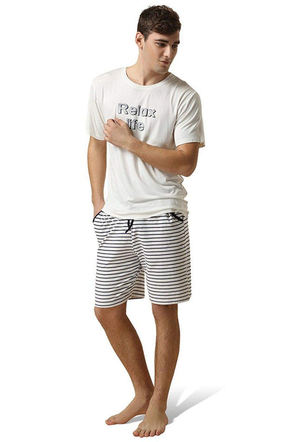 Lasher Men's Summer Pajama Sets