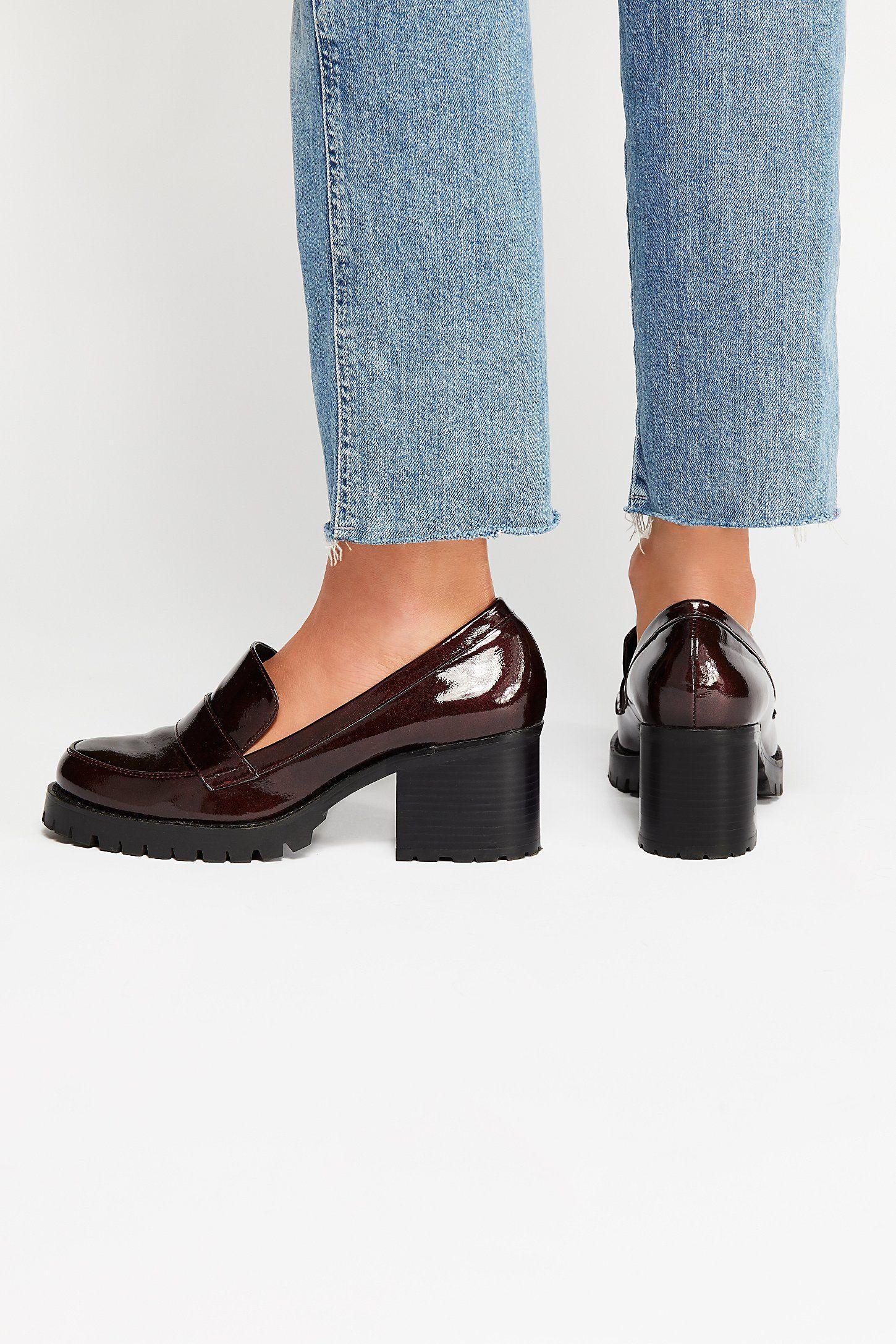 Lexden Block Heel Loafer
