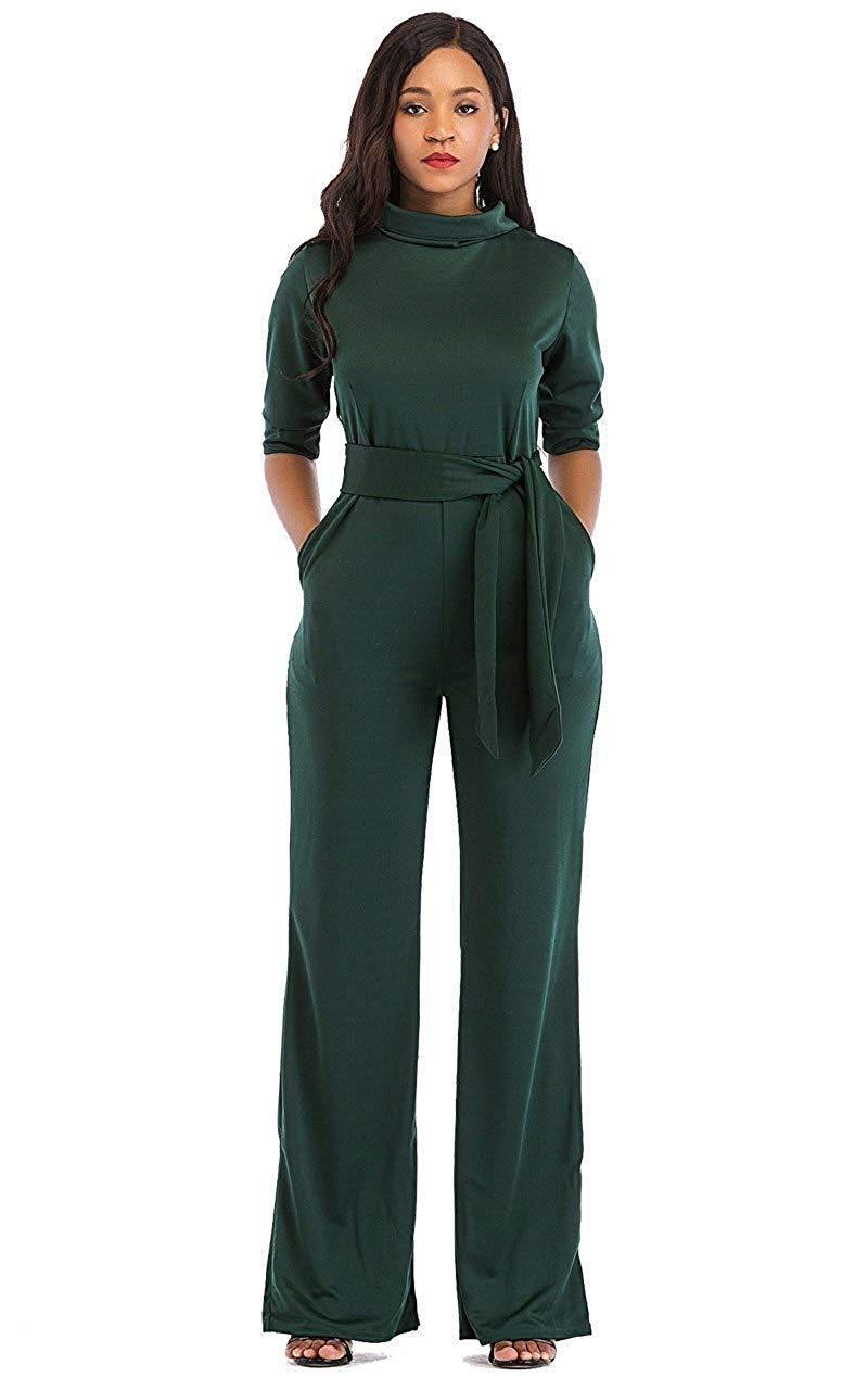 Long Sleeve Jumpsuits