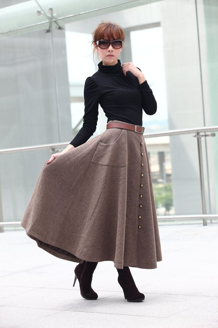 Long skirt outfits