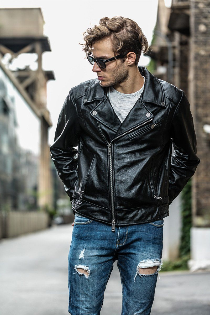 Men's Leather Jacket Styles