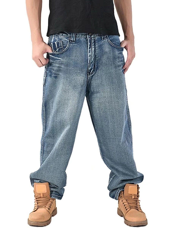 Men's Loose Fit Denim Jeans