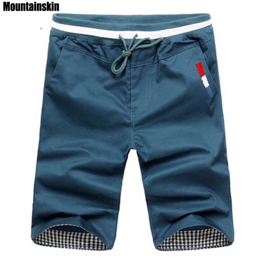 Mountainskin 2020 New Fashion Mens Cropped Sweatpants Cotton Jogger Men Korea Hip Hop Harem Outdoors Spring&Summer Shorts,EDA307