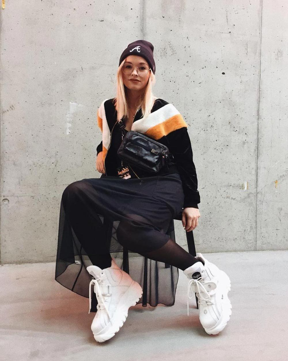 Platform Sneakers Outfit