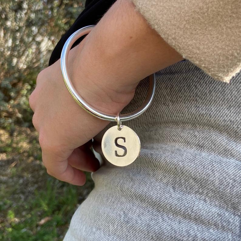 Silver-plated junk bracelet