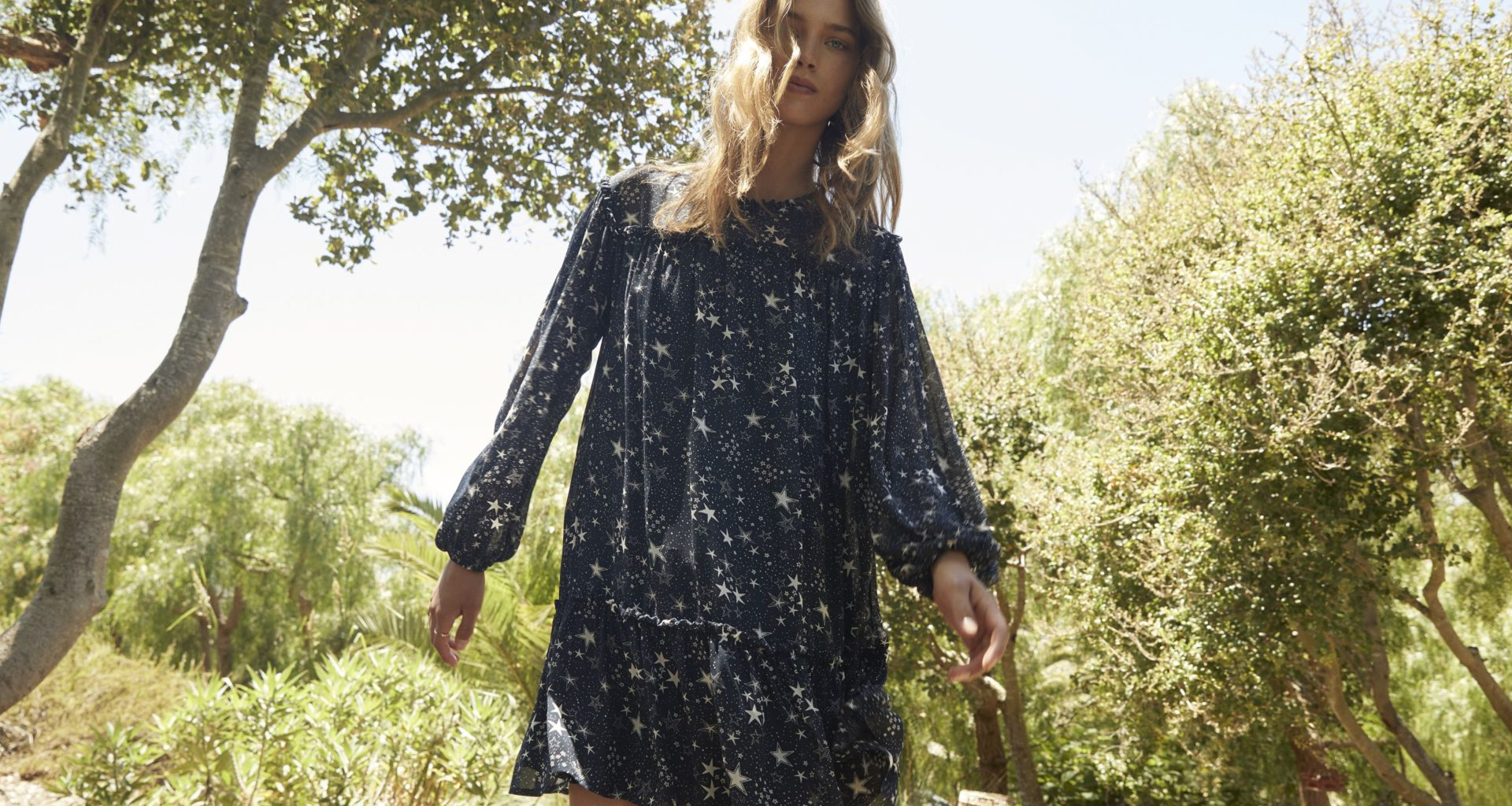 Star Printed Dress - Trendy and Inexpensive Way to Create an Impression
