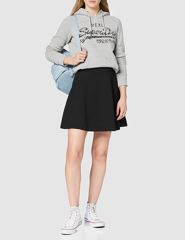 Superdry Women's Textured Skater Skirt