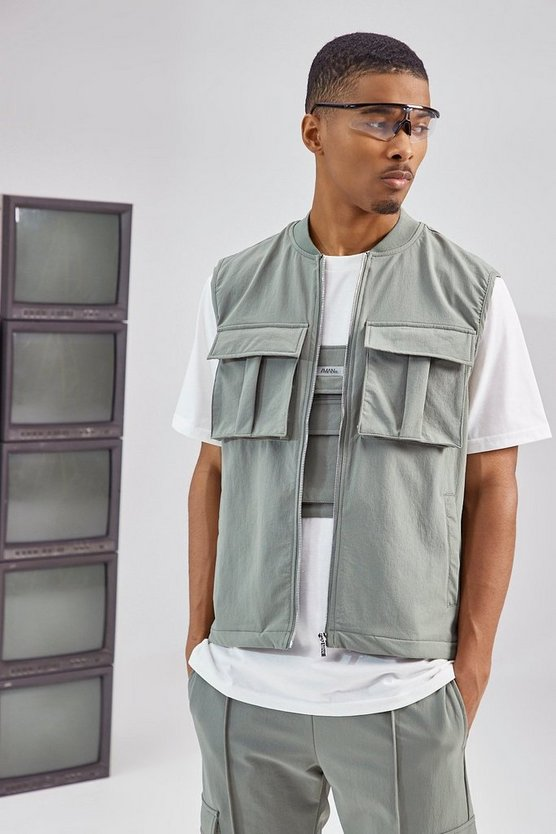 TAILORED UTILITY VEST