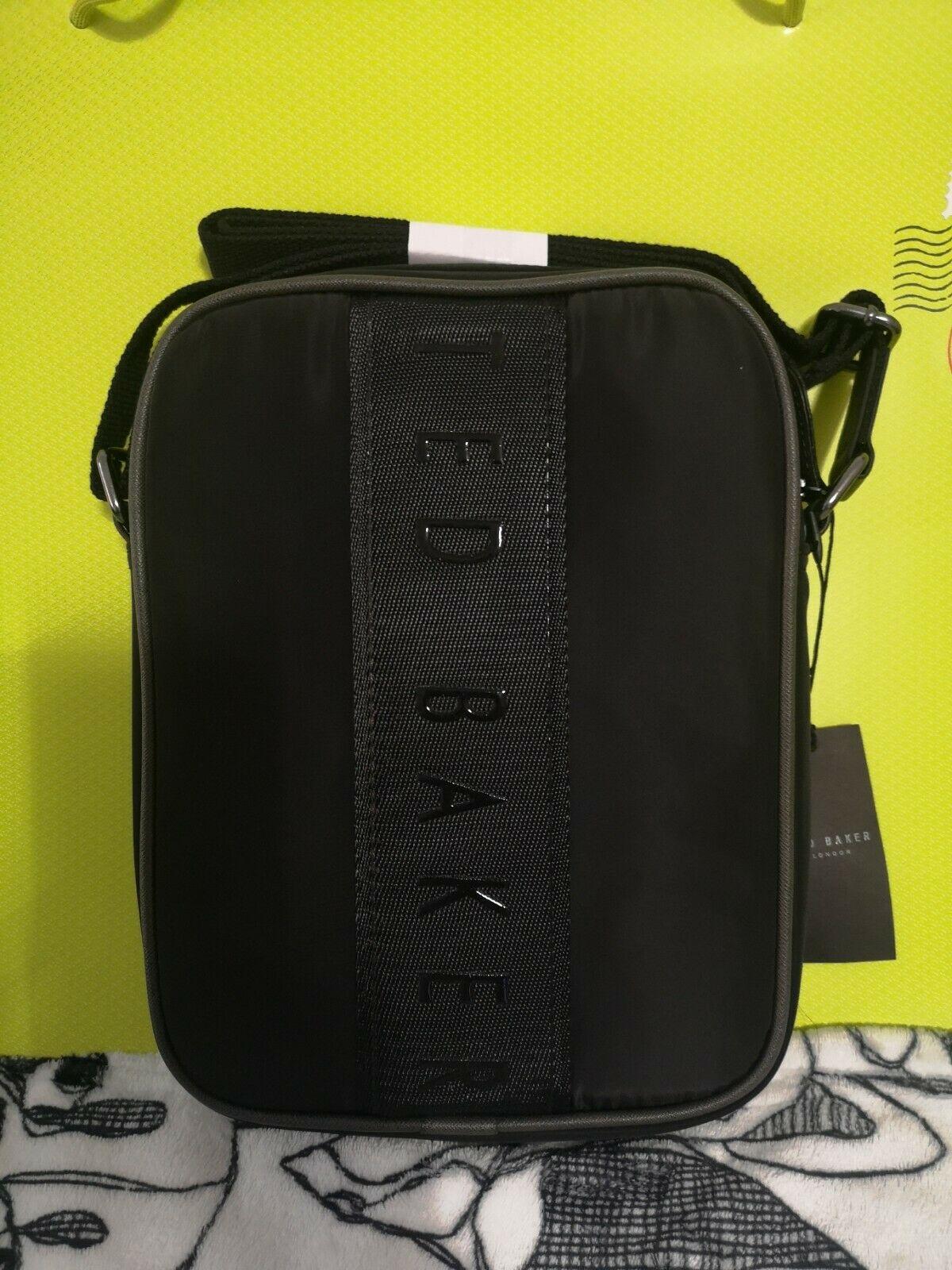 Ted Baker London Branded Satin Flight Bag