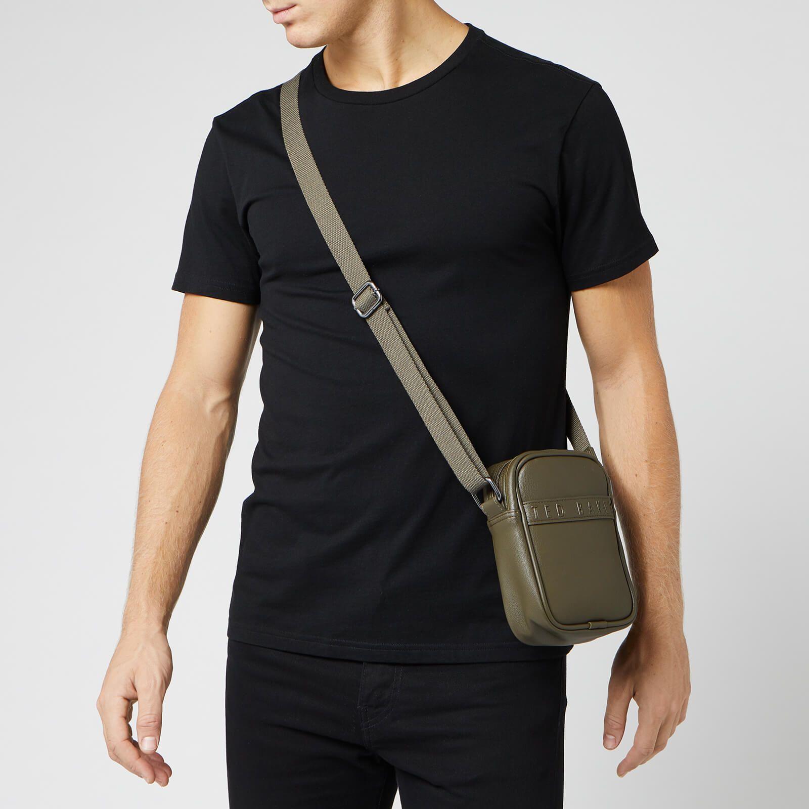 Ted Baker Men's Badz Debossed Mini Flight Bag