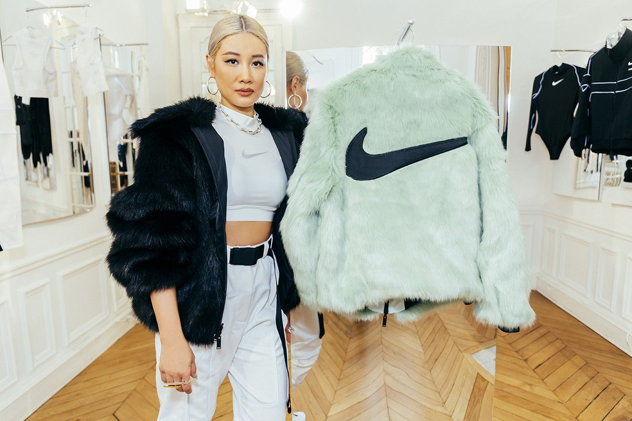 The Hot New Sporty Fashion Wear for 2021- Nike Fur Jacket