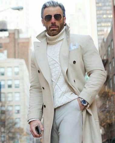 The Popularity Of White Trench Coats For Men