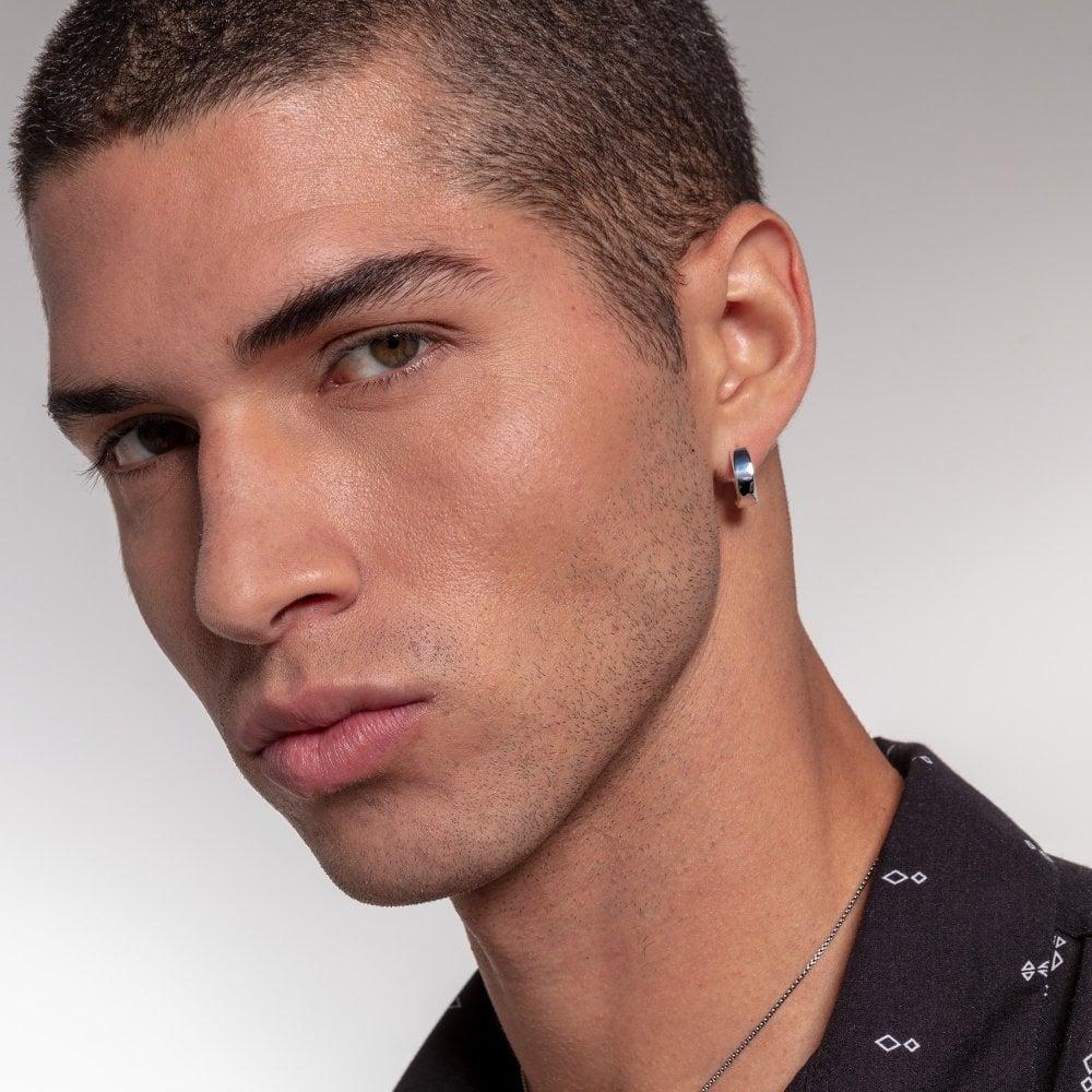 Thomas Sabo Minimalist Silver Hoop Earrings CR650-001-21