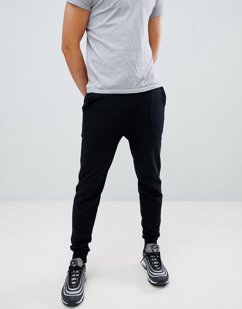 Tracksuits & Joggers | Asos Mens Asos Design Skinny Sweatpants In Black Black
