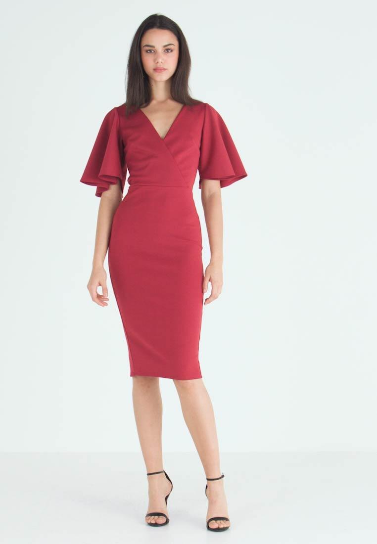 True Violet KIMONO SLEEVE MIDI DRESS - Cocktail dress / Party dress