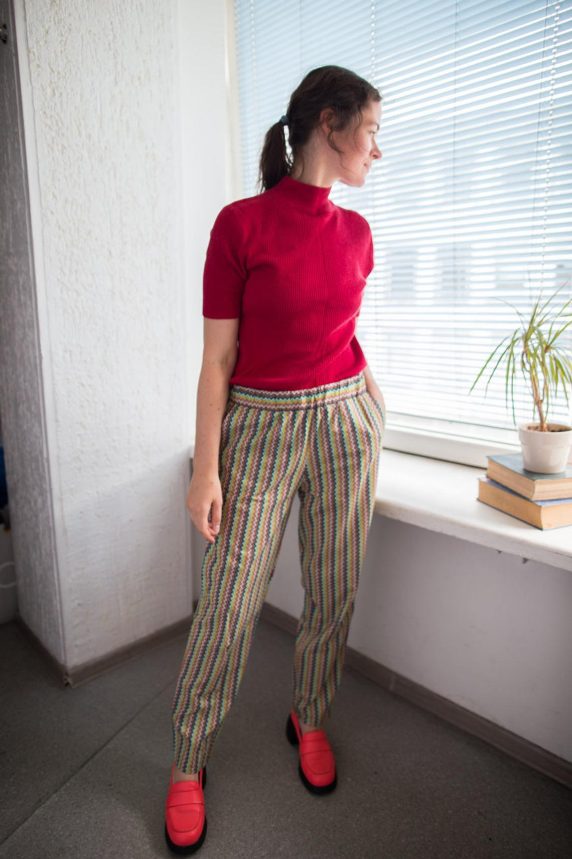 Vintage 90's Patterned Bohemian Trousers