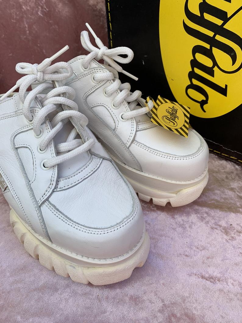 Vintage platform shoes/BUFFALO clogs/ Buffalo shoes/ Vintage platform shoes/ vintage platform sneakers/ Buffalo sneaker