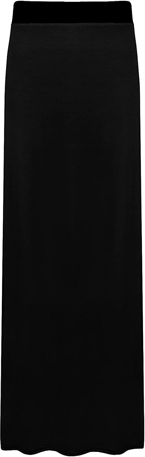 WearAll Ladies Long Maxi Skirt