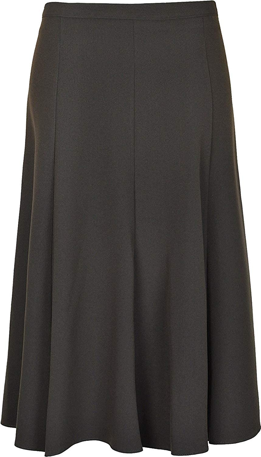 Women's Long Maxi PLAIN Flare Skirts