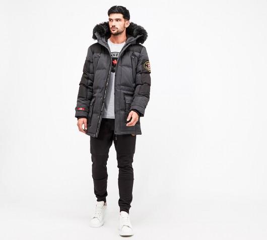 Zavetti Canada Turveno Hooded Parka Jacket