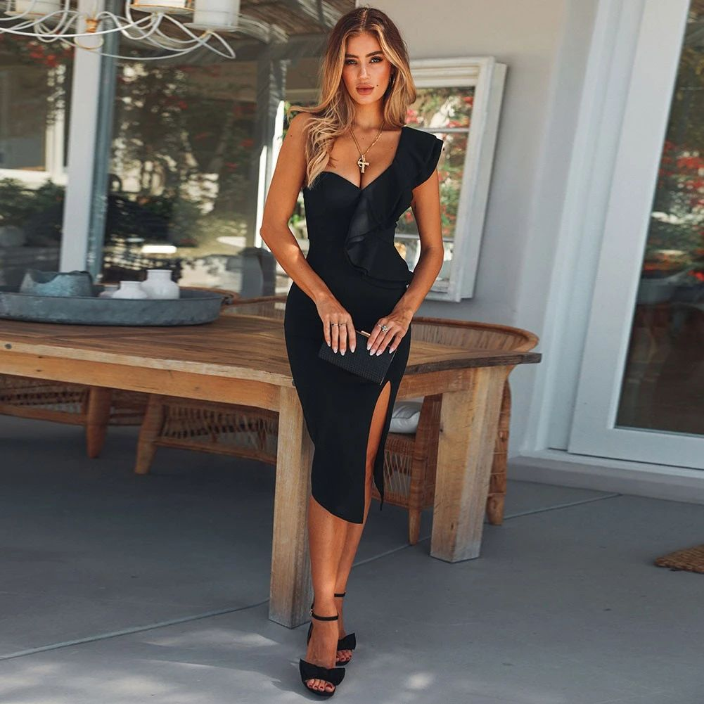 midi dress classic cut